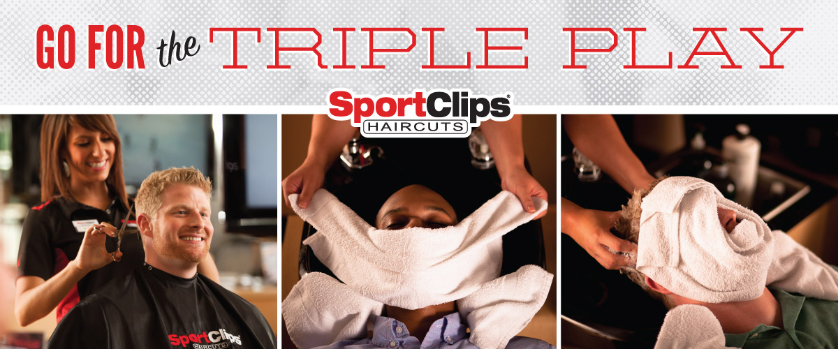 The Sport Clips Haircuts of Bensalem  Triple Play